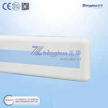 Hospital Aluminum Handrail With PVC Stair Handrail Plastic Cover