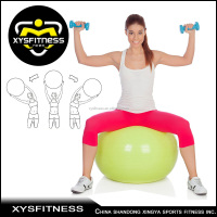 Popular lyoga ball wholesale fitness ball