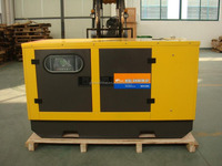 15kva diesel generator set with soundproof canopy