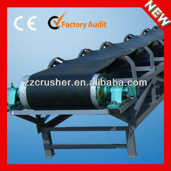 2014 hot selling belt conveyor for stone crushing transit
