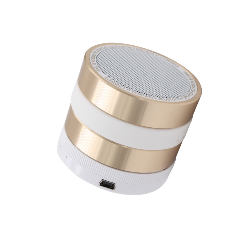 2017 Super Bass Stereo Mini Speaker Bluetooth Barato com Rádio FM