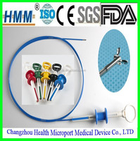Disposable surgical instruments sterilized biopsy forceps with CE mark