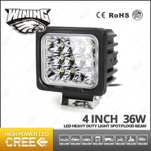 Wining New Arrival 4inch 36w Led Work Light IP67 Hot Sell Led Lamp For Driving For Porsche
