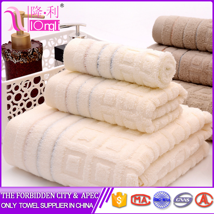 Factory Supplier hotel collection egyptian cotton towel made in China