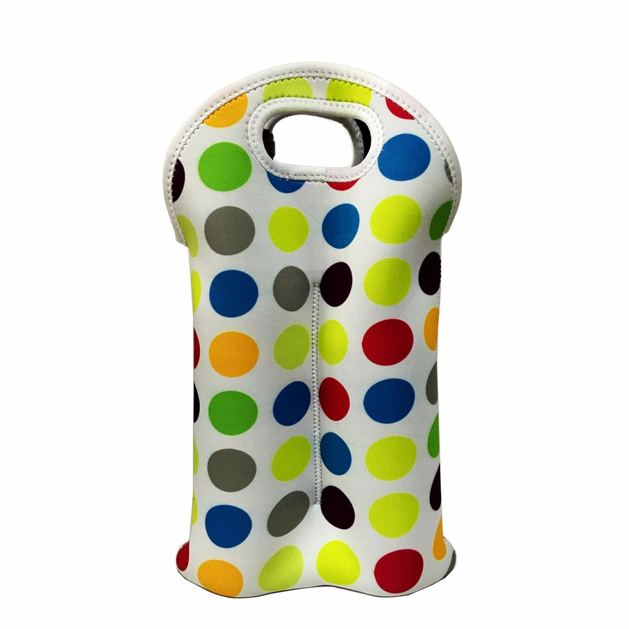 Neoprene Juice water wine bottle can cooler bag beer cooler bag