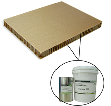 Polyurethane glue for PU foam, expanded polystyrene foam board bonding