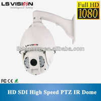 LS VISION hd sdi Speed Dome pan tilt zoom wired cam