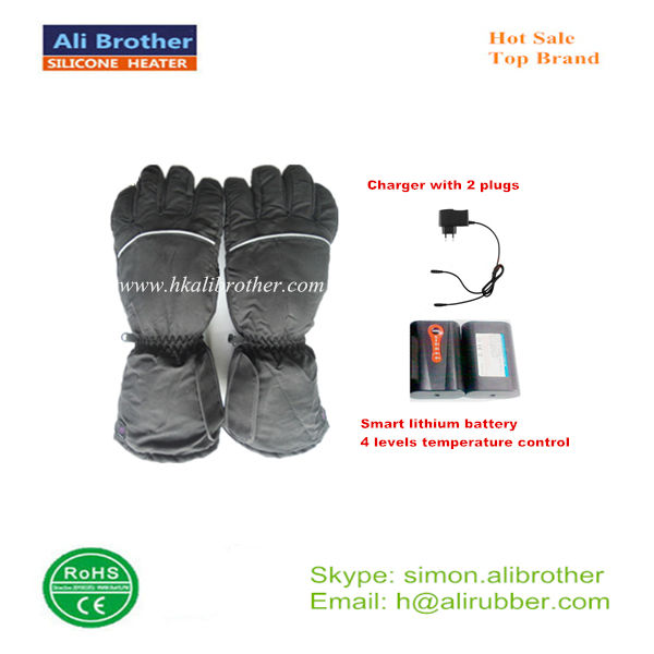 Rechargeable Battery Heated Gloves For Arthritis Physical Therapy