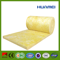 sound absorbing fireproof insulation glass wool roll