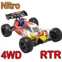 rc nitro car 1 10 scale full time 4wd off road rc nitro buggy SST RACING 1986Pro