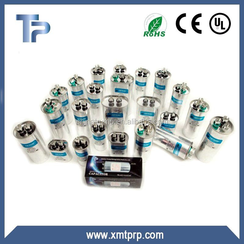 450V air conditon aluminum ac run capacitor cbb65