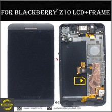 yezone bb lcd for blackberry z10 lcd screen display with frame