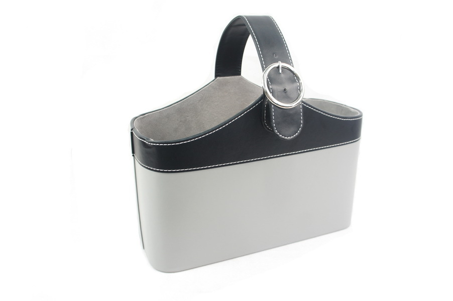 Eco-Friendly Grey PU Leather Office Set