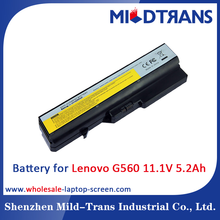 Replacement 6Cells laptop Battery for Lenovo G560 11.1V 5.2Ah 58wh Li-ion Battery