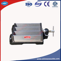 40x40x160mm Steel Cement Three Gang Mortar Prism Mould