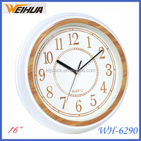 New design 3d numbers 16 inch wall clock china
