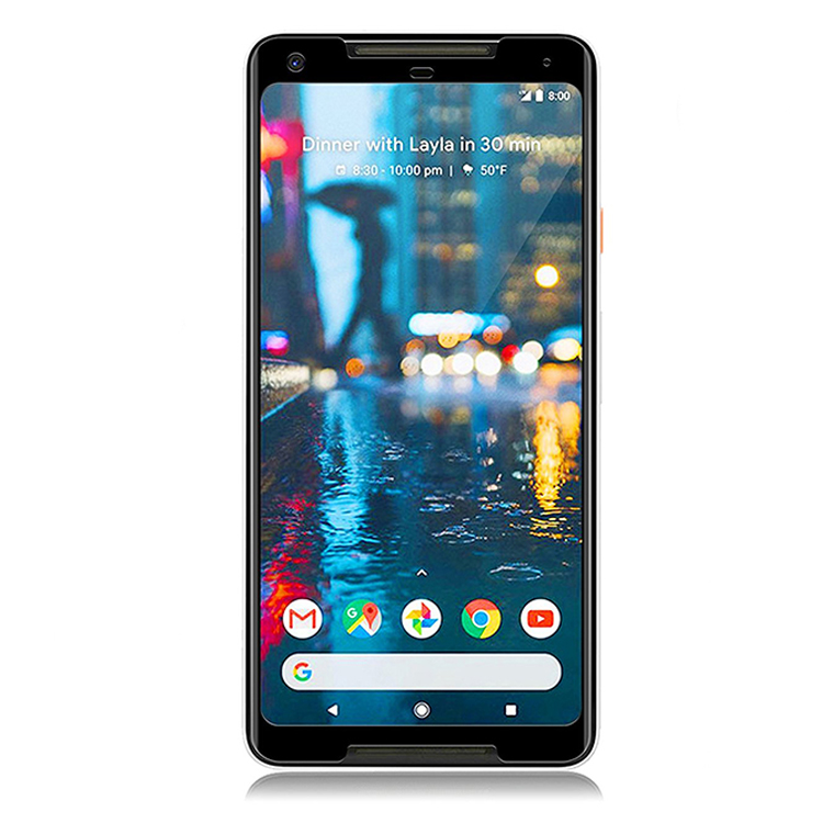 Nuglas & Pureglas <strong>shock</strong> resistance premium 3d curved full cover tempered glass for google pixel 2