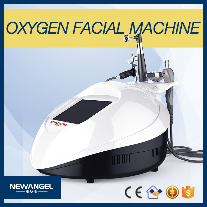 New portable jet peel 98% pure oxygen facial spray for beauty salon