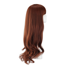 wholesale 100% human hair wig /long wigs grey