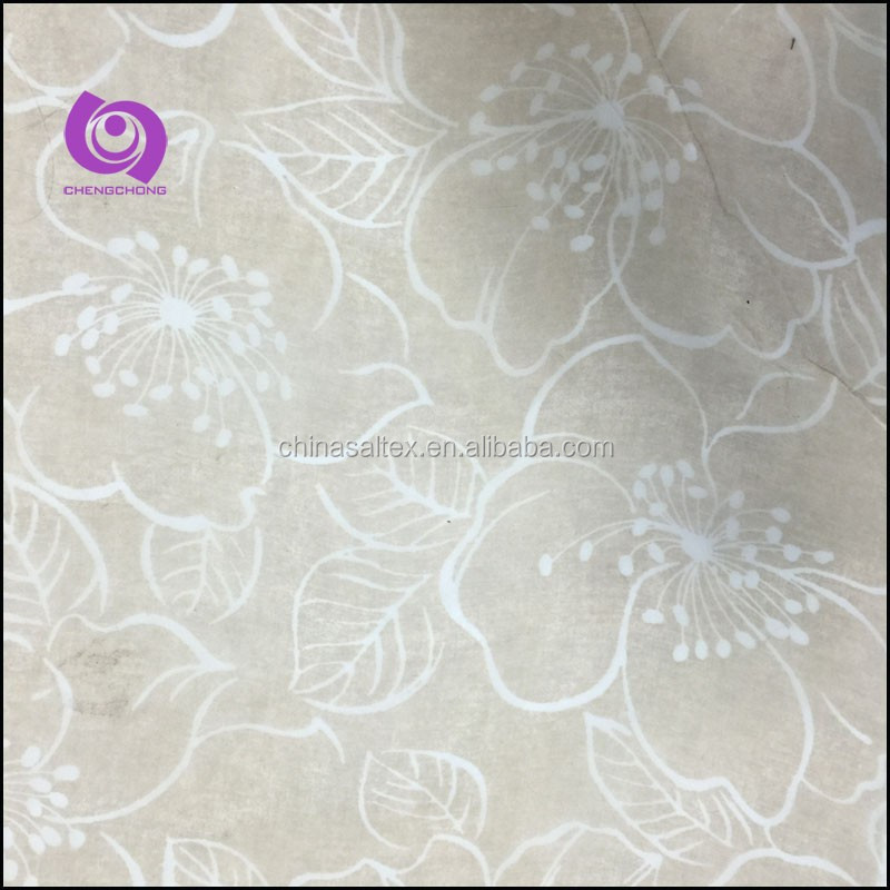 Fancy Cheap 100% Polyester Printed Organza Curtain Fabrics