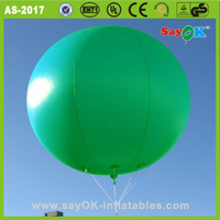 cheap custom printed logo inflatable helium balloons for advertising
