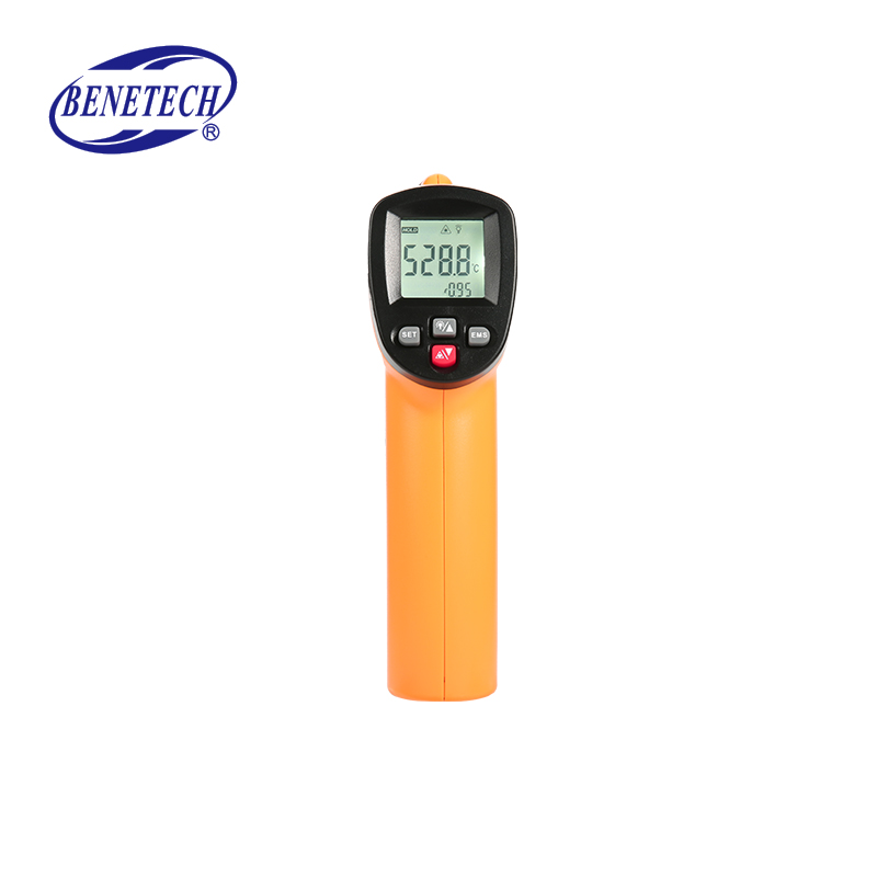 GM550E digital non contact infrared thermometer <strong>temperature</strong> and humidity meter