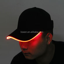 2014 china wholesale market glow in dark led <strong>hat</strong> for events