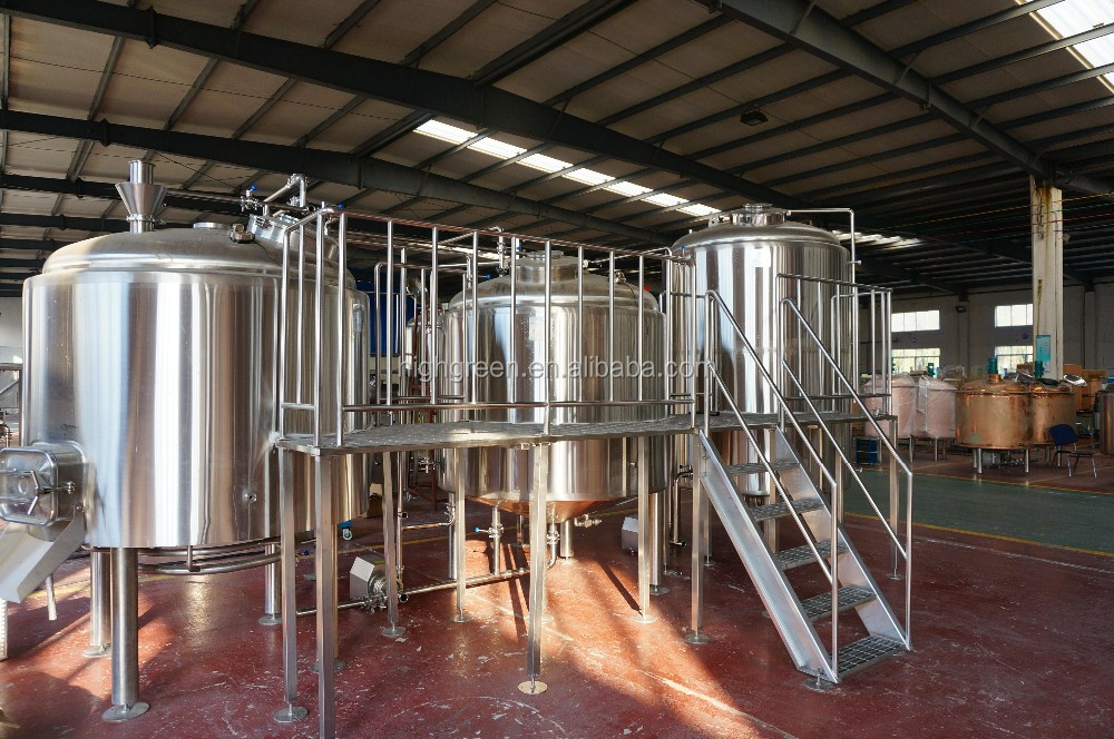 stainless steel beer brewing equipment conical fermenter turnkey 15bbl beer brewery