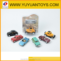 1:32 Simulation Pull back vintage car model metal classic car toys