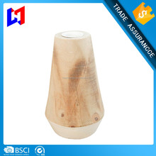 Fashion Wooden Candle Holder Mini Wooden Candlestick
