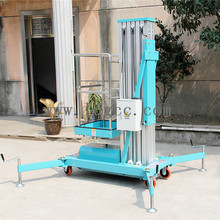8m aluminium alloy mobile hydraulic lifter with GTWY8-100