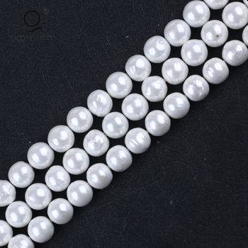 mother of pearl shell beads for jewelry making , natural round oyster shell beads