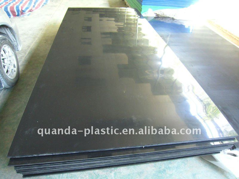 Black 3m PE Plastic Sheet