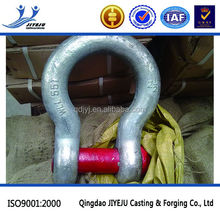 Connecting with chain alloy steel large bow anchor shackle