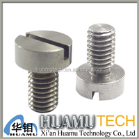 Slotted Pan Head Molybdenum screw for building industry furnace