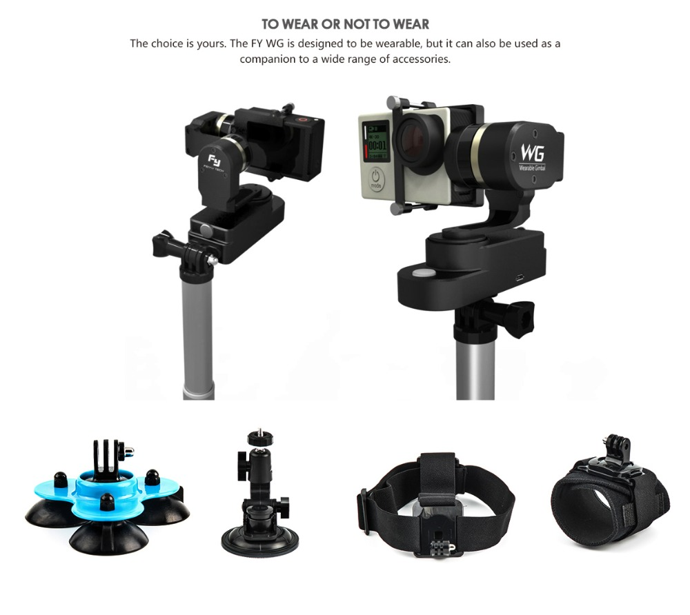 Hot product Fiyutech Hot product Fiyutech brushless Gimbal for gopro camera