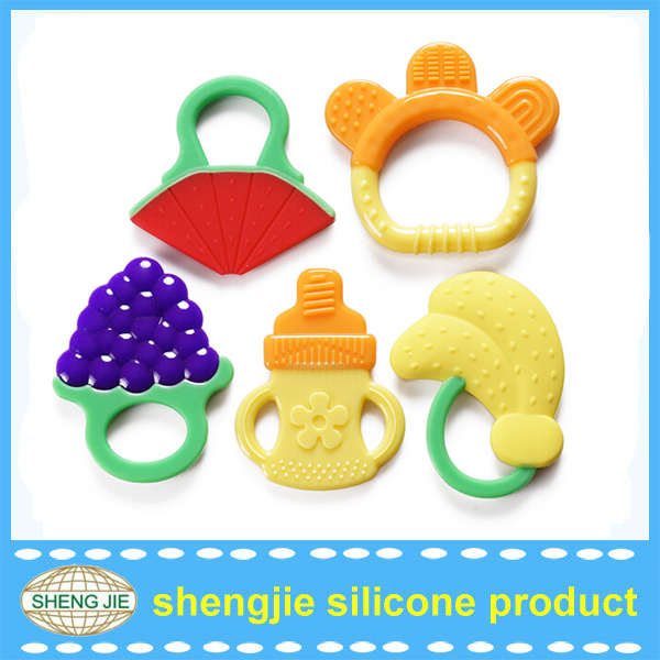 New infant Textured BPA free baby gums teether toy non-toxic baby chewing toy