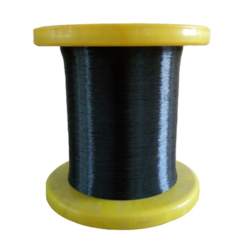 China manufacturer direct sale black 0.20mm  pps monofilament yarn pps