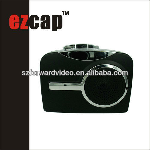EzCAP USB tape recorder,walkerman,USB cassette converter,USB cassette recorder,tape player,tape-EzCAP218C