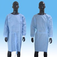 Disposable SMS Nonwoven Surgical Gown Medical