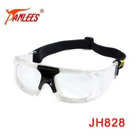 Anti Impact Fog Protective prescription replacable Sports Myopia Basketball Soccer CE Silicone Safety Goggle Eyewear