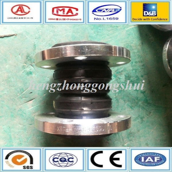 safety twin sphere flexible pipe rubber ring joint with iso certificate