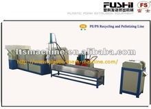 pe foam sheet scrap recycling machine