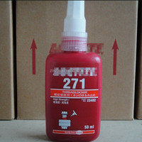 High quality 271 Oil-resistant seal glue anaerobic applicable disassemble metal screws