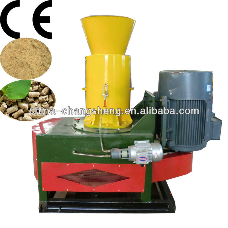 wood pellet making machine with hammer mill (CE)