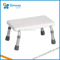 Aluminum Height Adjustable One Step Stool