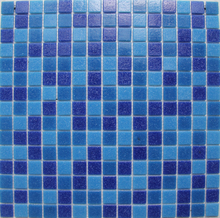 2017 The Cheapest Bestselling square glass mosaic for swimming pool tile