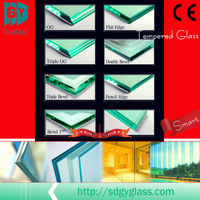 Guangyao high quality tempered glass cut to size with CCC