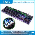 RGB backlight mechanical gaming keyboard