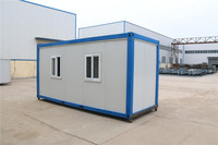 Popular Prefab High polystyrene panel assemble and disassemble container house